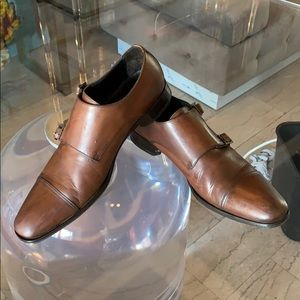 GRANT Double Monk Shoe By TO BOOT NY made in Italy
